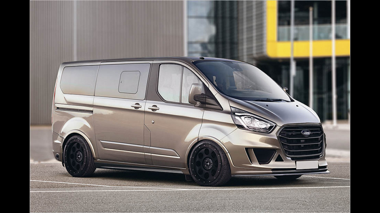 ford transit custom 2017 mit tuning von loder1899. Black Bedroom Furniture Sets. Home Design Ideas