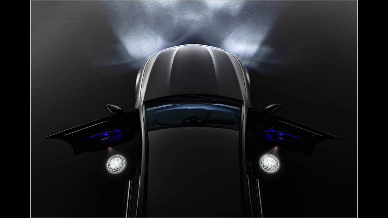 Mercedes bringt LED-Projektoren