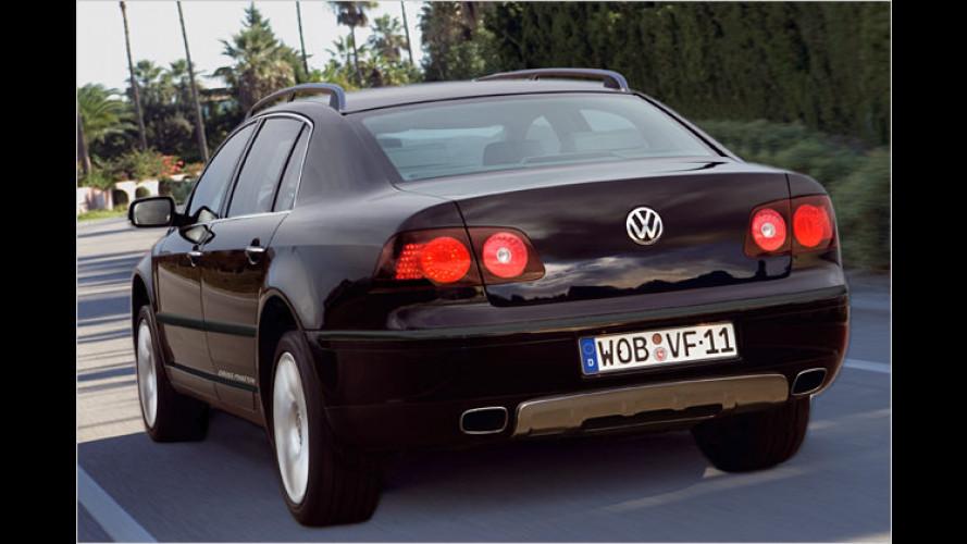 VW CrossPhaeton: Edel-Limousine wird Offroad-tauglich