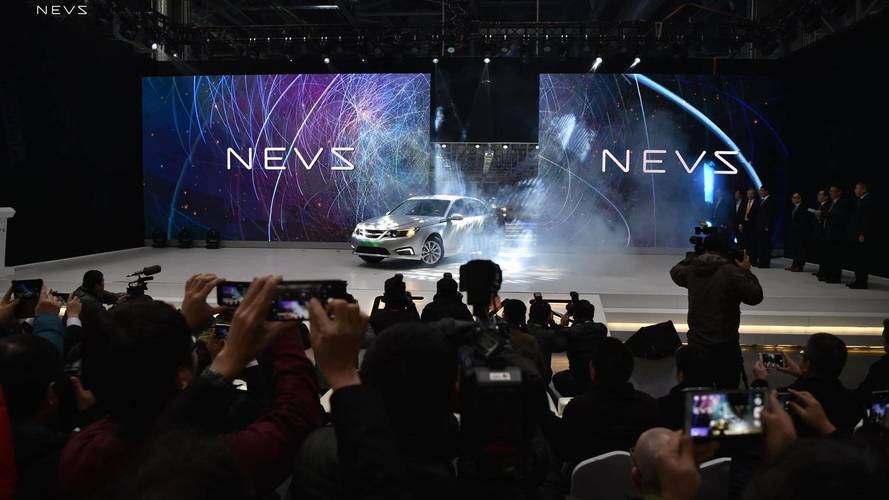 NEVS 9-3 Electric Sedan Production Starts In China