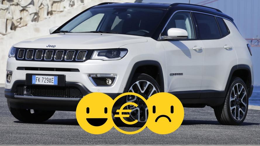 Promozione Jeep Compass, perché conviene e perché no