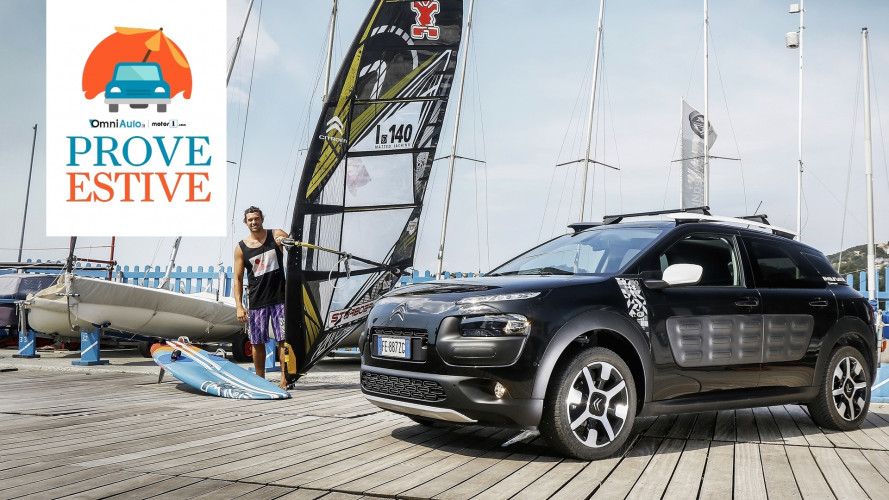 Citroen C4 Cactus, a prova... di Wind Surf! [VIDEO]