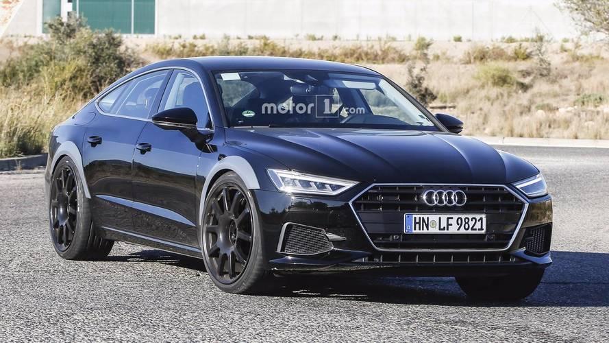PHOTOS - Première sortie pour la future Audi RS 7