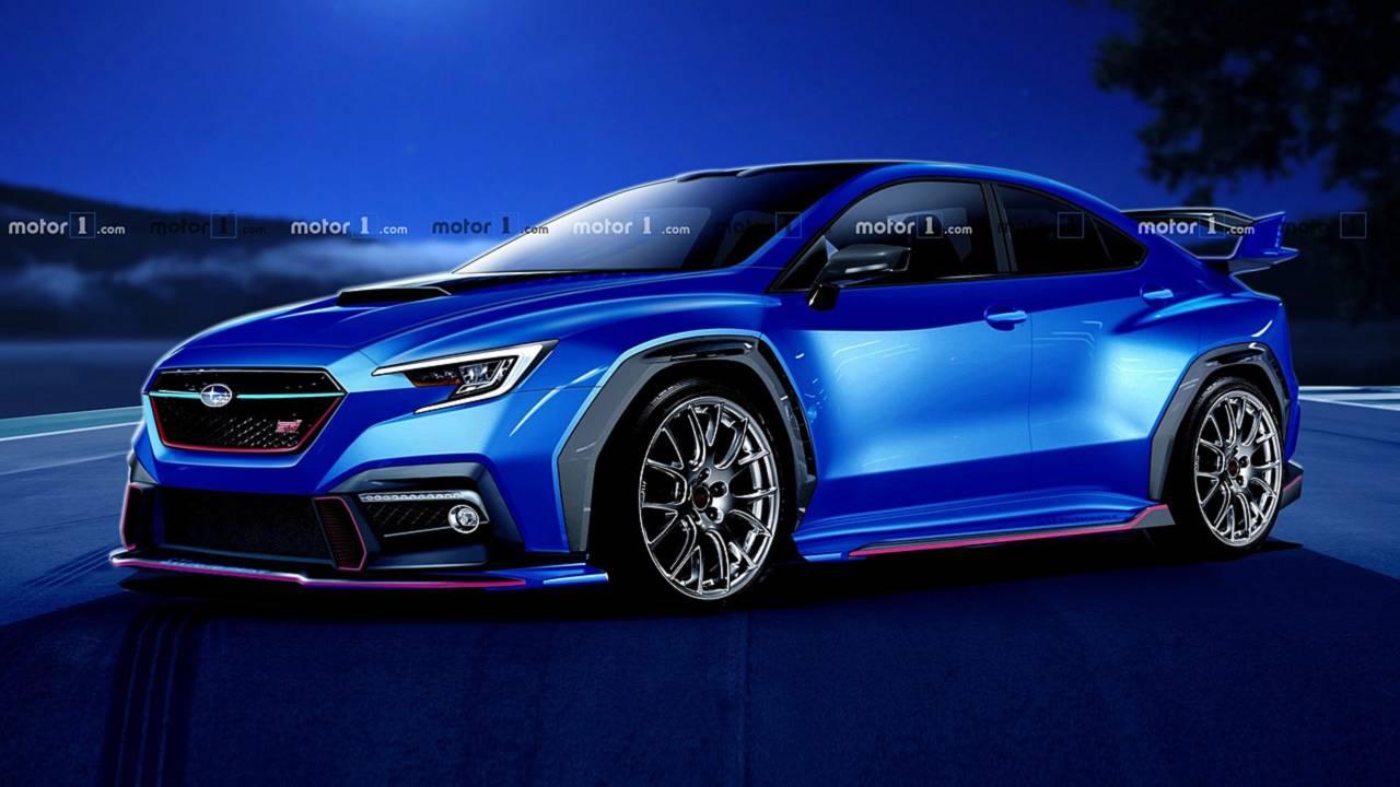 Next-Gen Subaru WRX STI Render