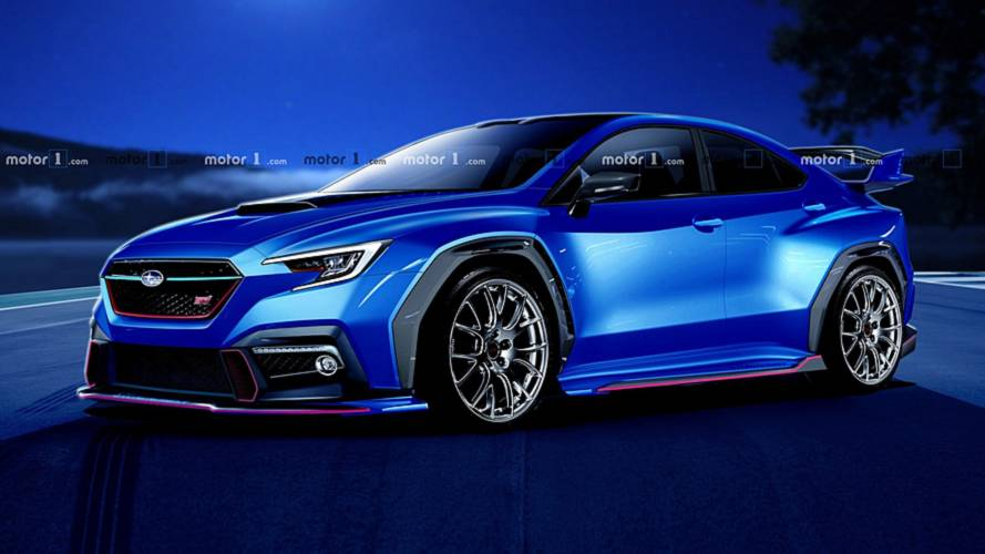 Next-Gen Subaru WRX STI Render Is Bodacious In World Rally Blue