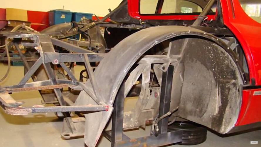 Restauración Ferrari 512i BB de 1984
