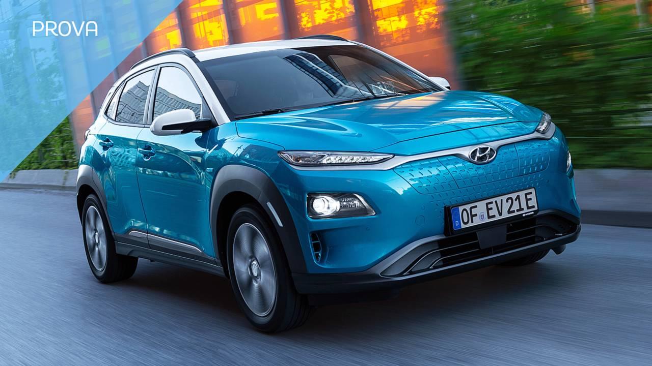 Hyundai Kona Electric, la prova