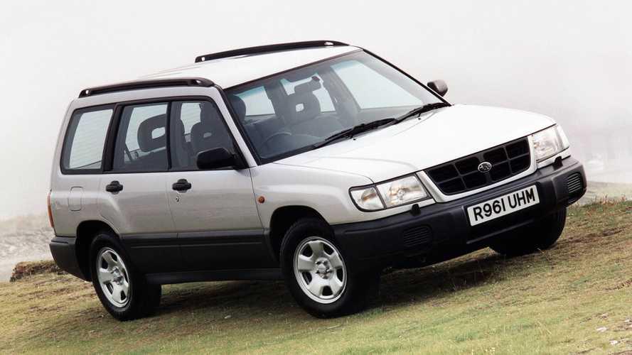 Subaru Forester, l'oggetto non identificato