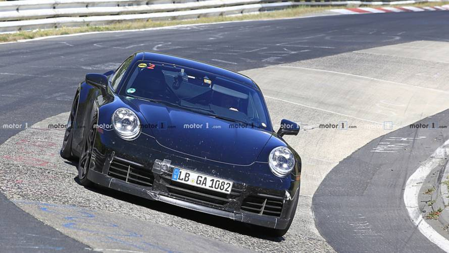 Yeni Porsche 911 GT3 test edilirken yakalandı