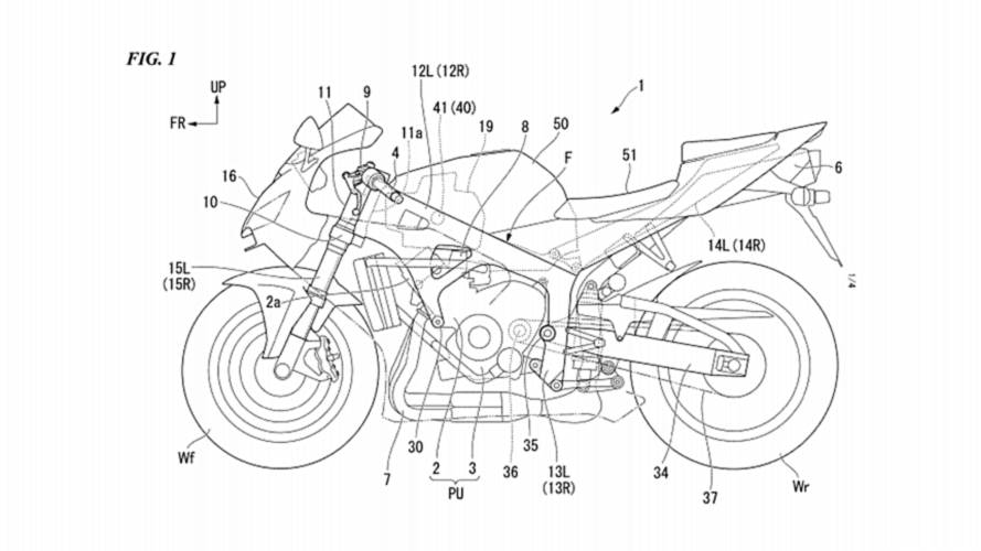 Honda Patents Carbon Fiber Reinforced Frame