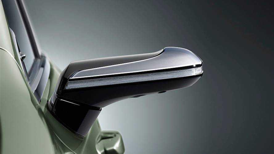Lexus ES Rétroviseur caméra