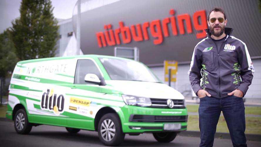 BTCC pilotu Nürburgring'in minibüs rekorunu kırdı