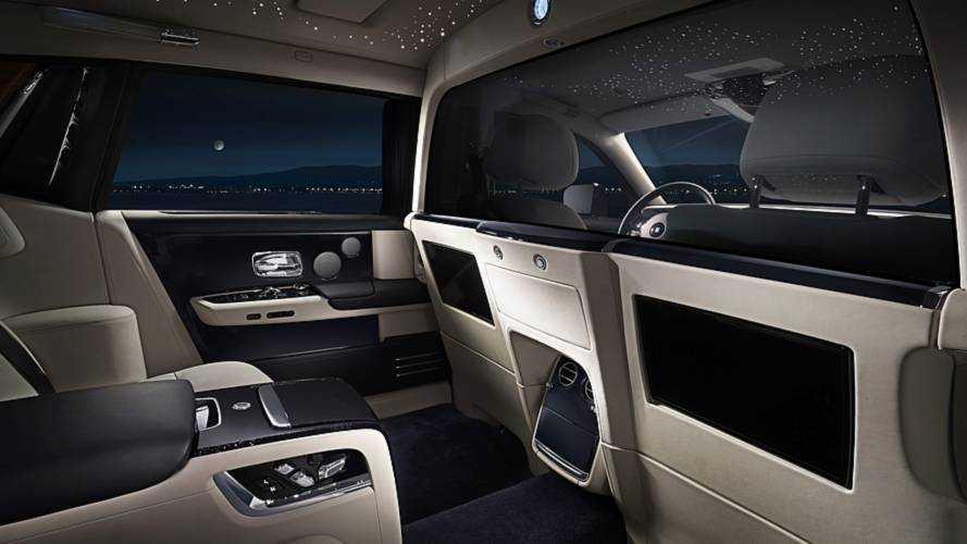 Rolls-Royce Privacy Suite - Une option pour les personnes en mal de vie privée
