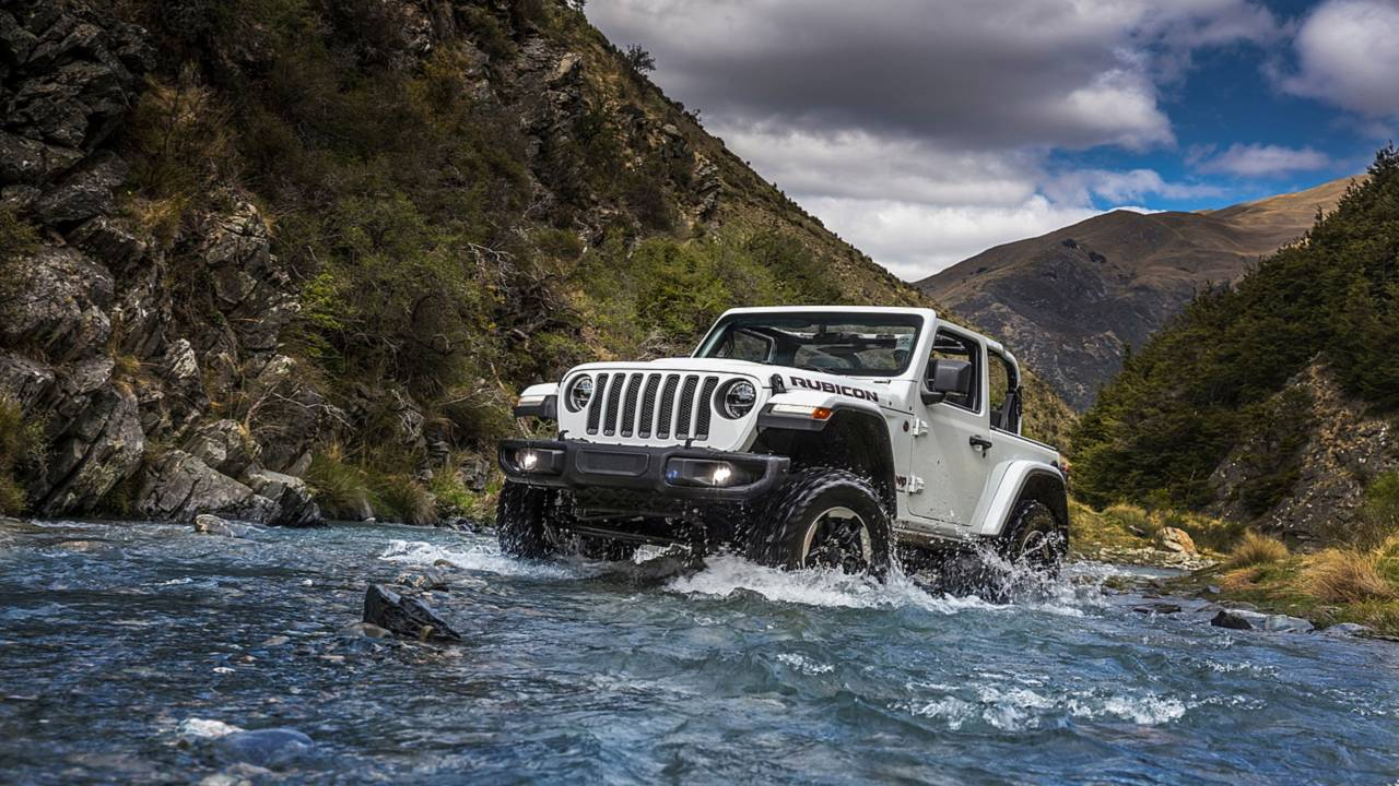 4. Compact SUV/Crossover: Jeep Wrangler