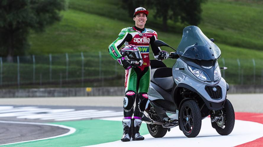 Piaggio renueva su gama de scooter de tres ruedas MP3