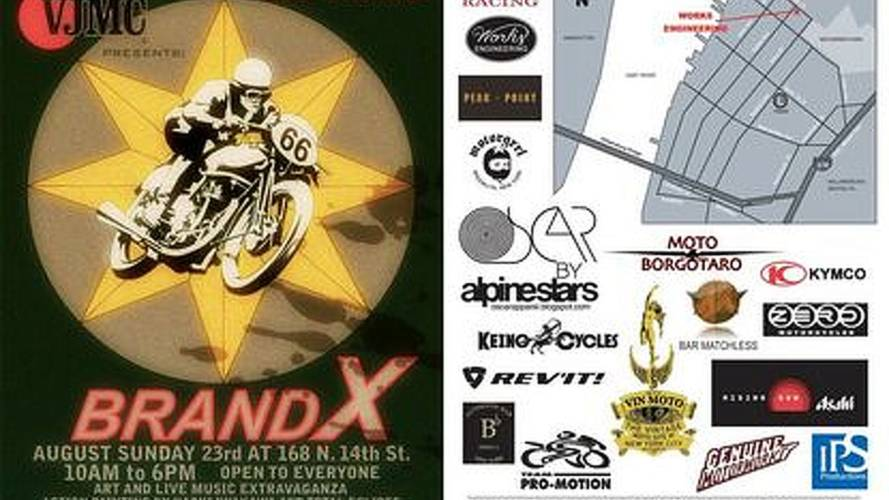 Brand X block party, this sunday, Brooklyn
