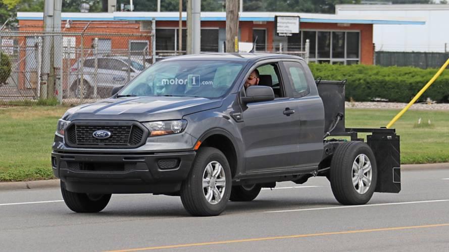 Yeni Ford Ranger XLT casus kameralara yansıdı