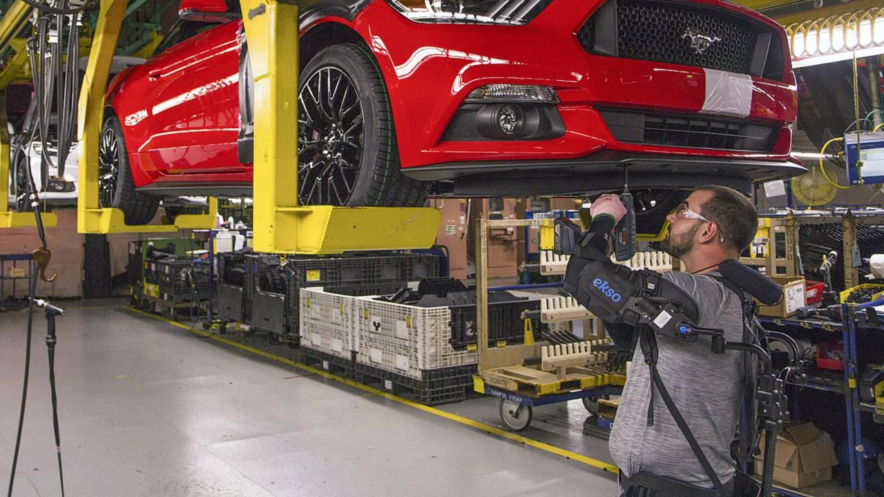 Ford EksoVest Mekanik Dış İskelet
