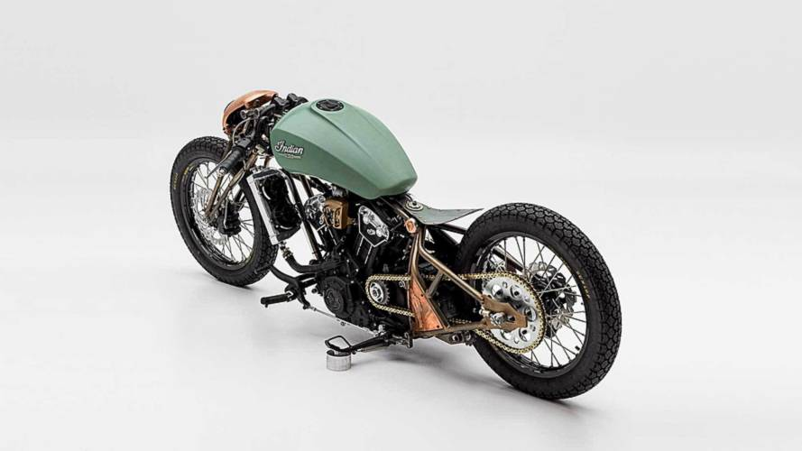 "Indian Unveils Final Builds from ""The Wrench"" at Sturgis"