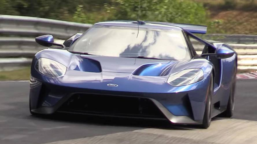 Could Ford GT Video Point To Supercar Attempting A 'Ring Record?