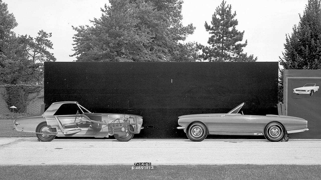 Ford Mustang Zweisitzer-Studien (1961)