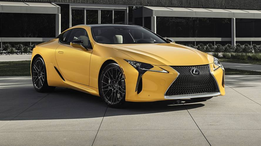 Lexus LC 500 Inspiration Edition debuts bright face in Chicago