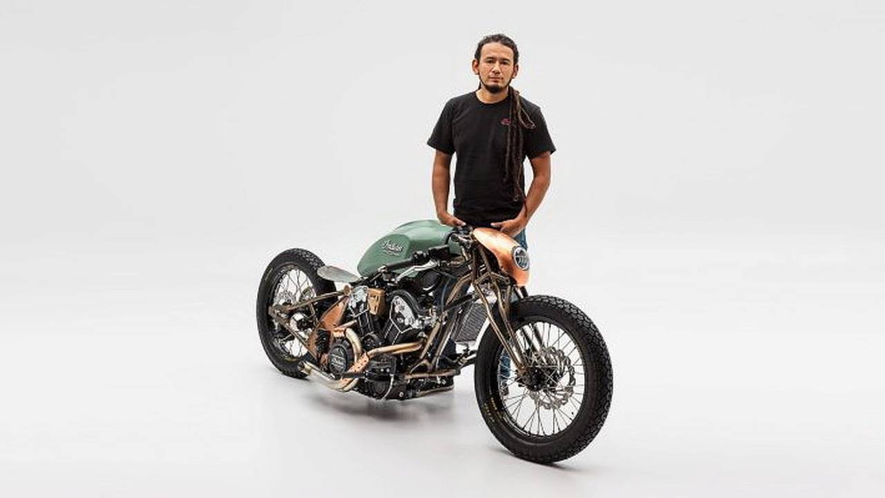 """Indian ganadora del """"The Wrench: Scout Bobber Build Off"""" 2018"""