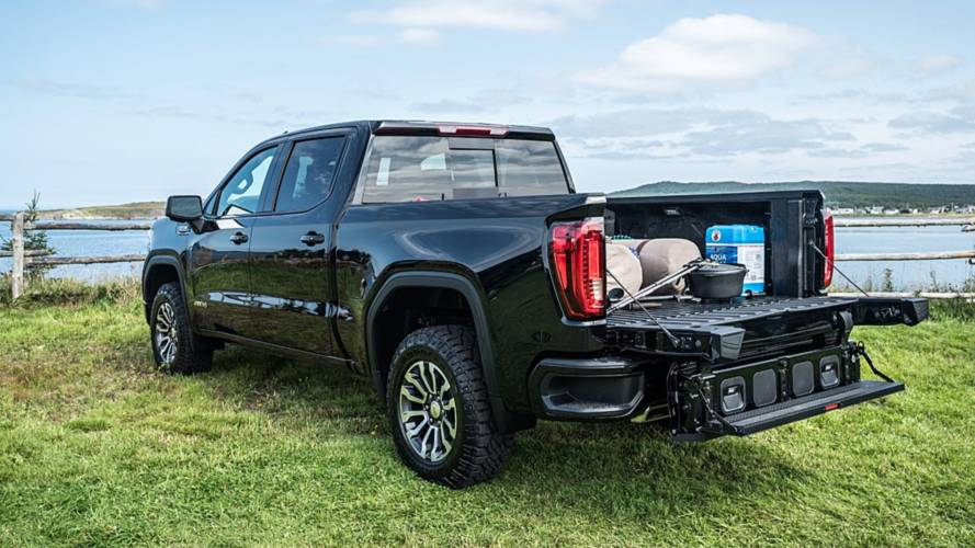 All 2021 GMC Sierra Now Standard With MultiPro Tailgate Except Base