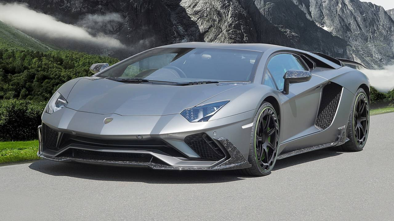 Lamborghini Aventador S by Mansory