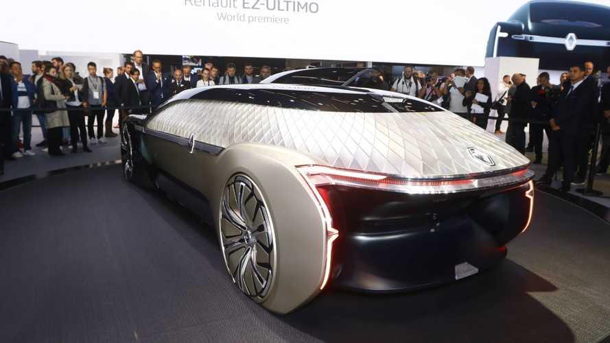 Renault EZ-ULTIMO Concept: eléctrico, conectado y autónomo
