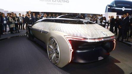 Salão de Paris: Renault EZ-Ultimo prevê futuro autônomo do Uber