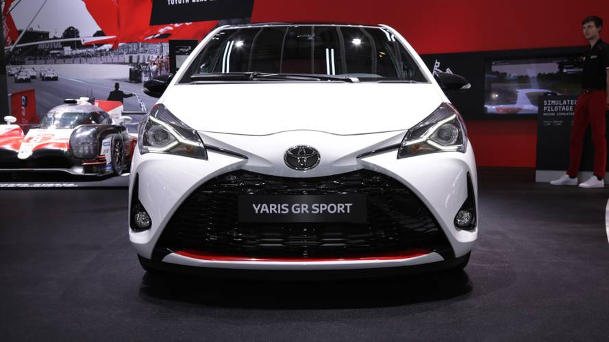 Toyota Yaris GR Sport at the Paris Motor Show