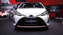 Toyota Yaris GR Sport en el salón de París 2018