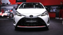 Toyota Yaris GR Sport at the Paris Motor Show