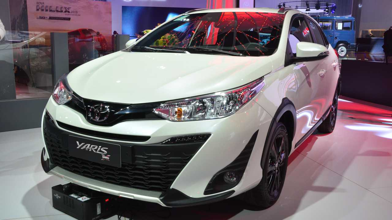 Toyota Yaris X-Way - Salão de SP 2018