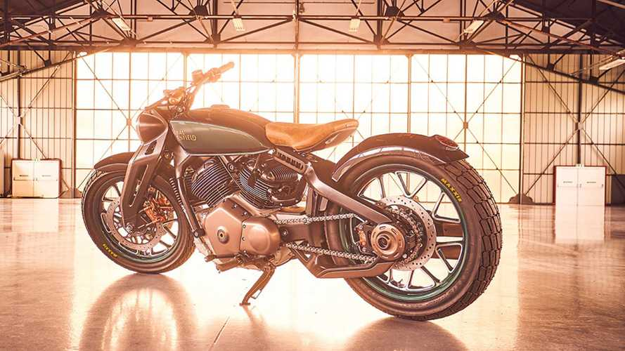 Here's What Royal Enfield's 650 Cruiser Will Probably Look Like