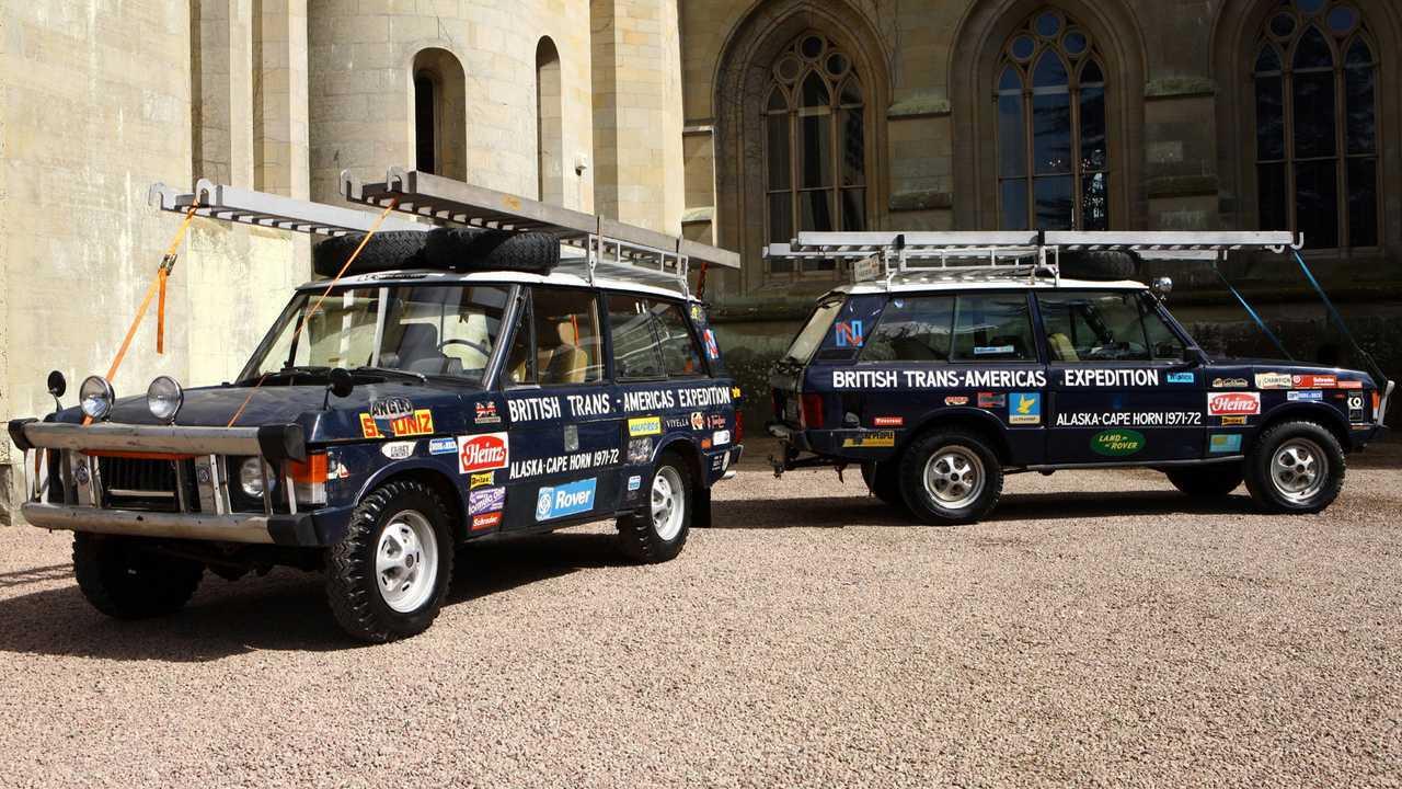 Range Rover Expedición Trans-Americas