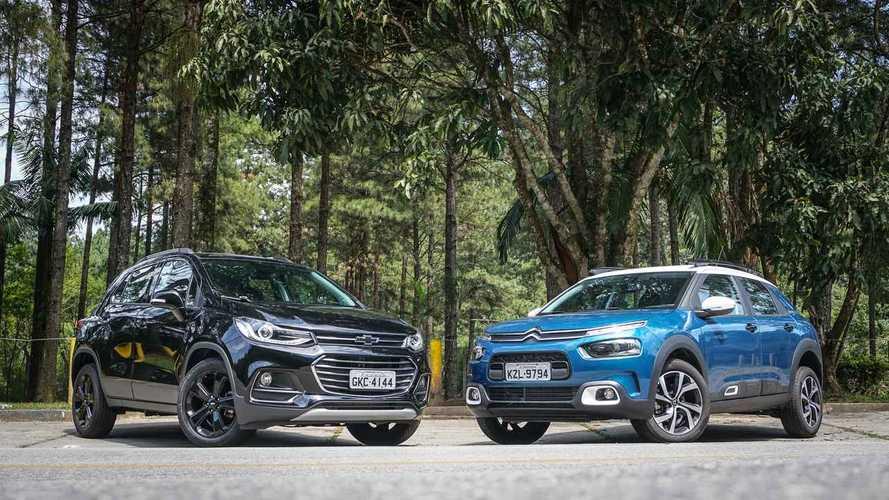 Comparativo Citroën C4 Cactus THP vs. Chevrolet Tracker: Correndo por fora