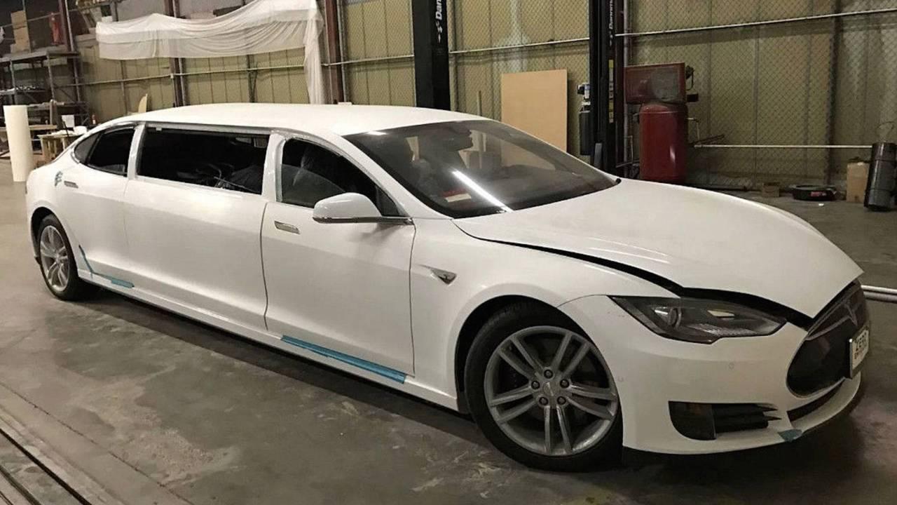 Model S limousine