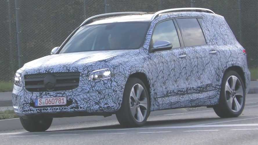 Mercedes GLB-Class Spied On Video Looking Ready For Production