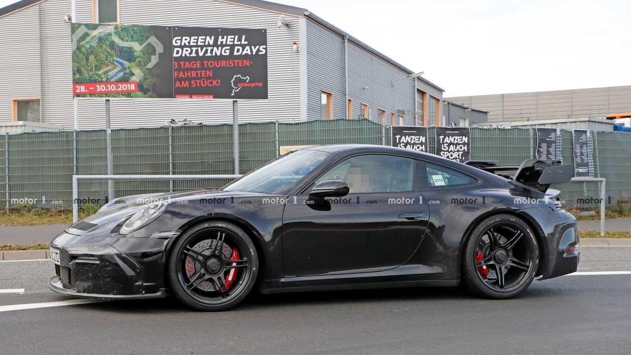 Porsche 911 GT3 2020 fotos espía