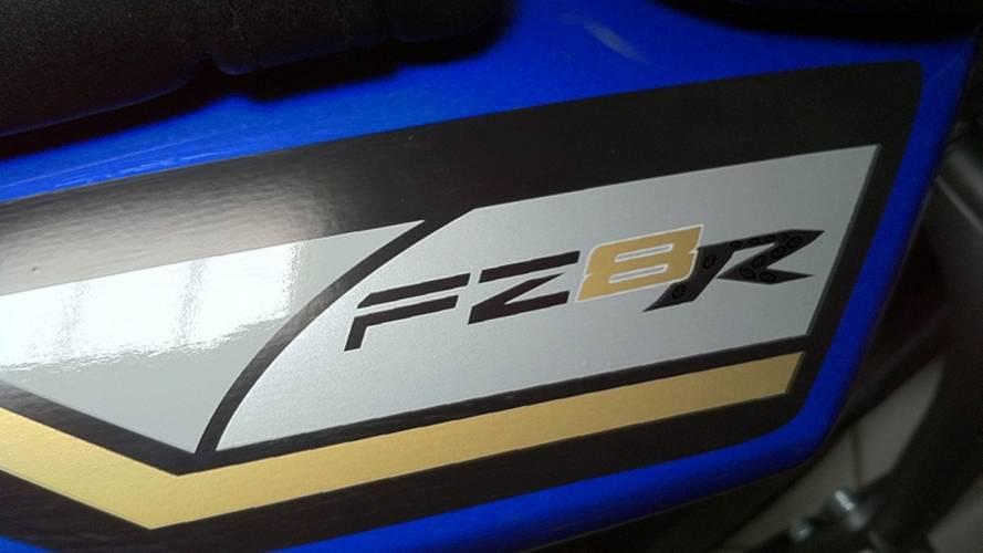 Spy Photo: Yamaha FZ8R