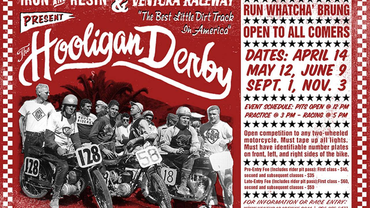 Your chance to beat us at a flat track race