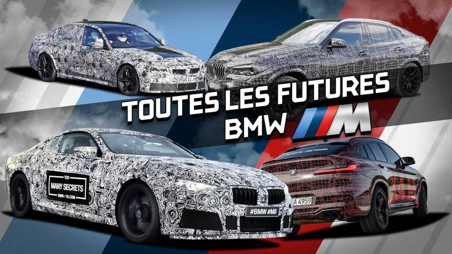 DIAPORAMA - Toutes les futures BMW Motorsport