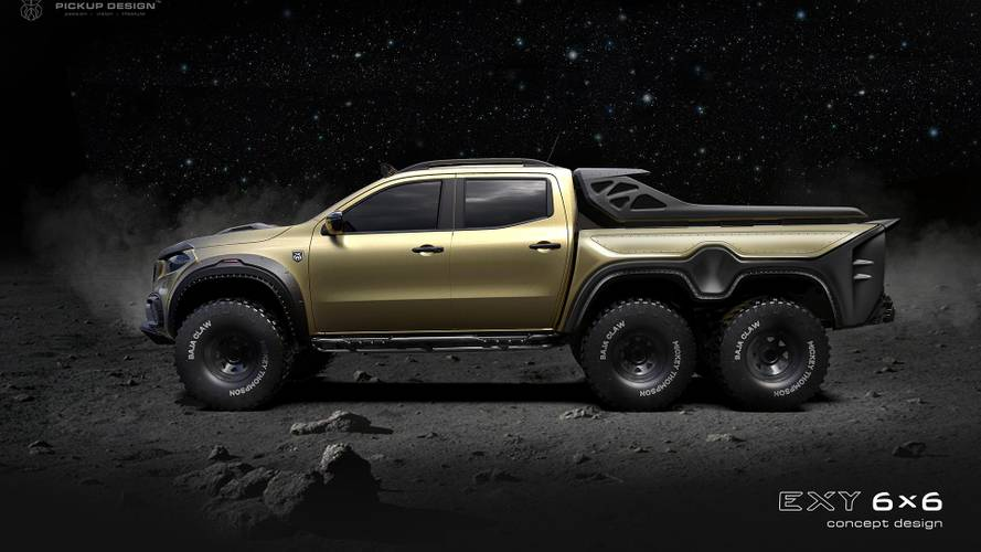Mercedes X-Class 6X6 From Carlex Will Be A Gnarly, Off-Road Rig