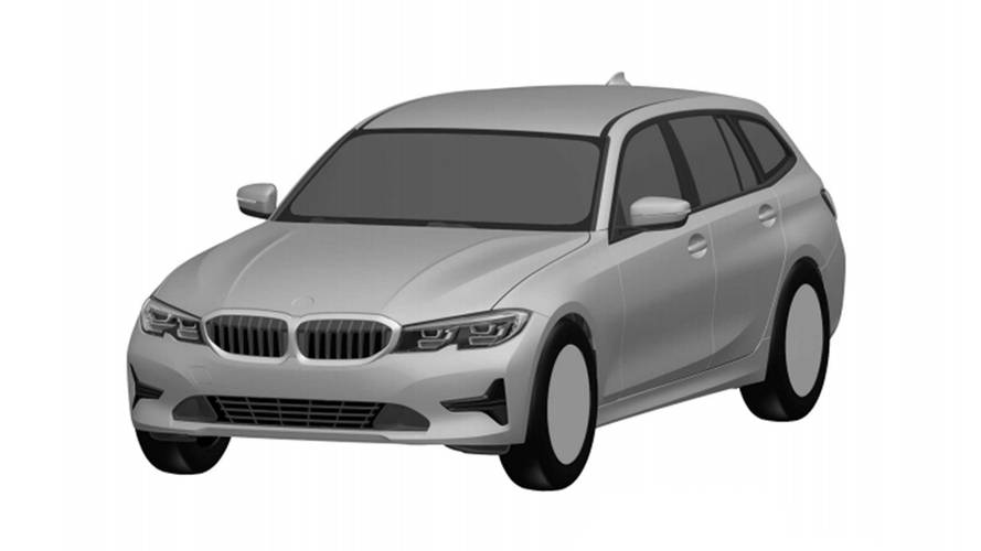 BMW 3 Series Estate unearthed in Brazilian design registration