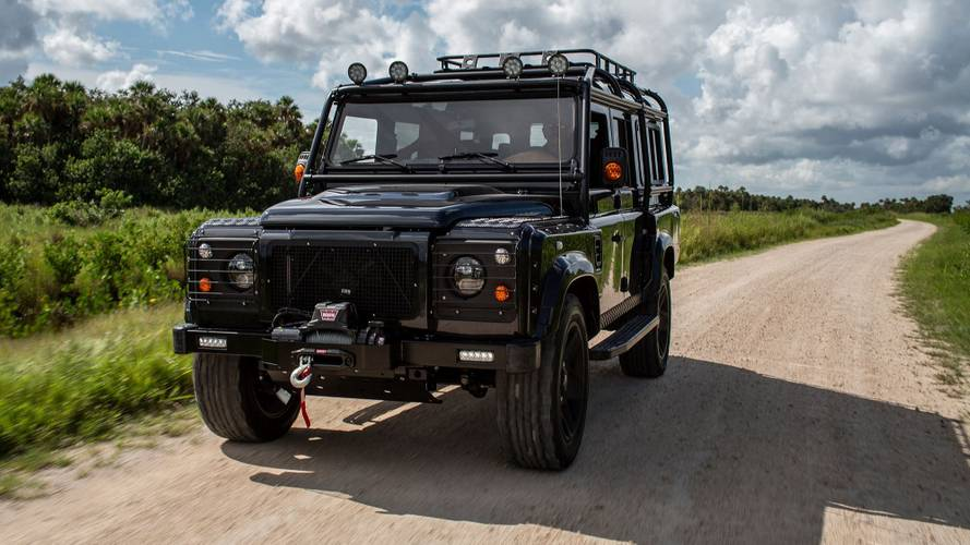 Project Evolution: un Land Rover Defender con motor de Corvette