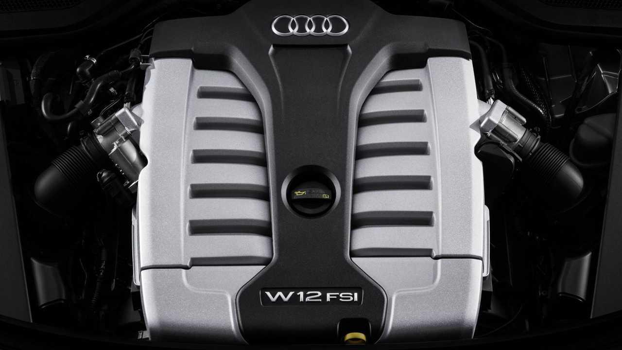 Audi A8 L W12 engine