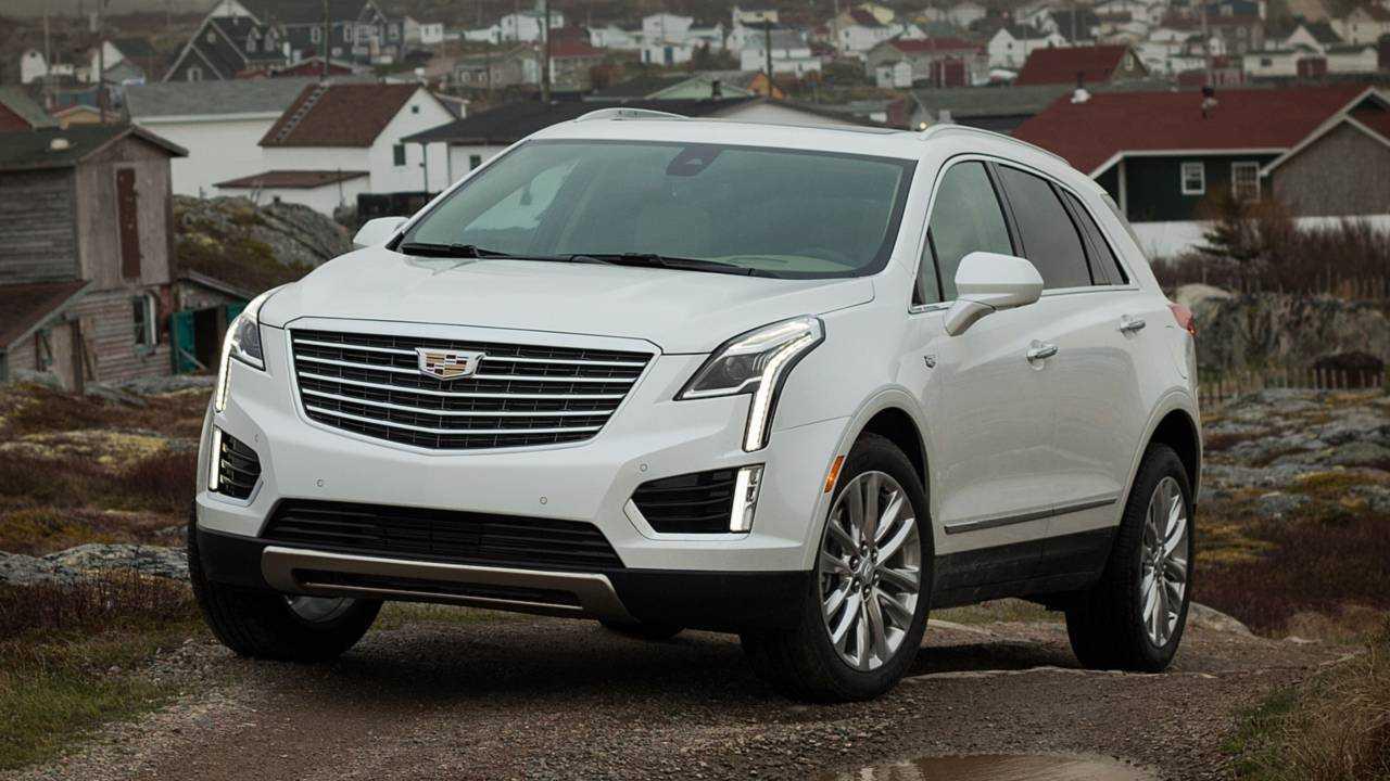 7. Cadillac XT5: 64.2 Days