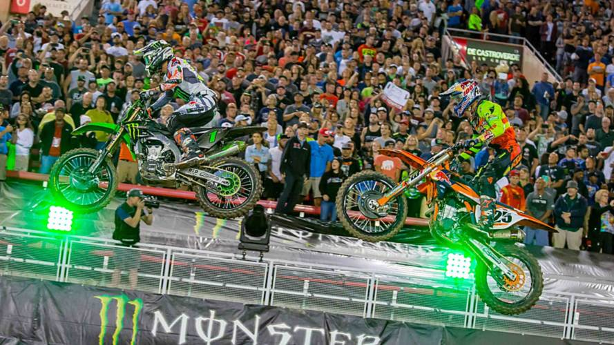Monster Energy Cup Supercross Takes On Vegas